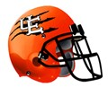 UE Tiger football helmet