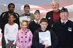 veterans with students