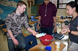 Students learn about cultures through food