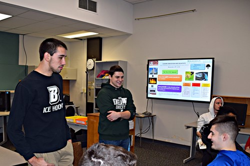Students talk about business ideas