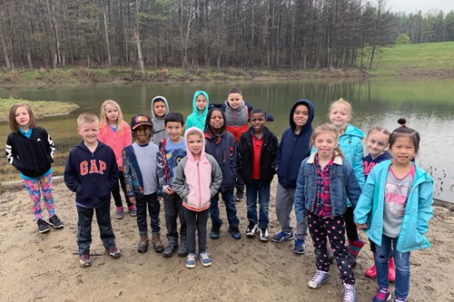 Students at Finch Hollow