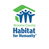 Students help with Habitat house
