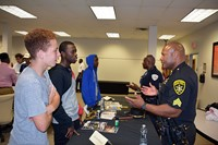 Students and area professionals talk about careers