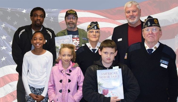 Veterans with CFJ students