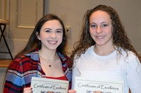 Fall scholar athletes receive certificates