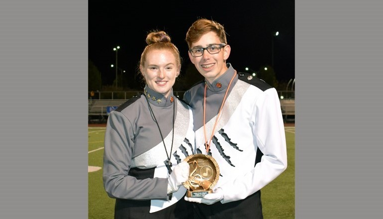 UEMB placed second at the Vestal Golden Circle of Bands competition.