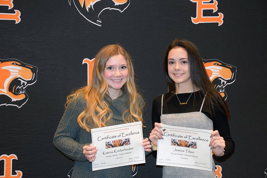 Fall 2018 Scholar Athlete recognition