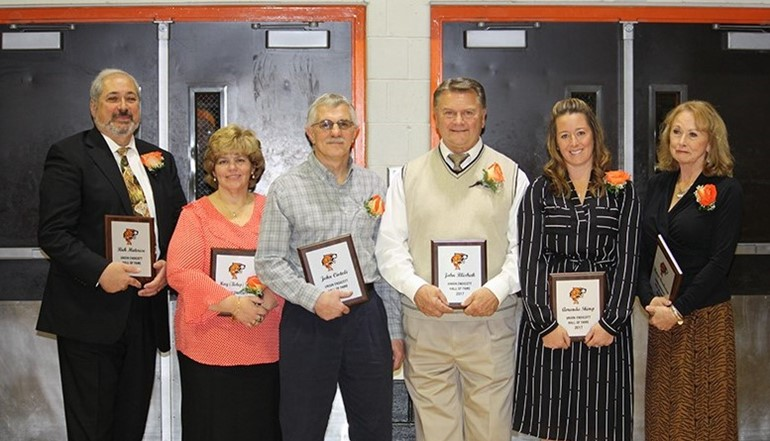 Class of 2018 Athletic Hall of Fame.