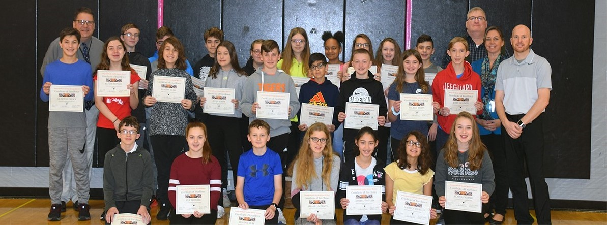 Congratulations to our 7th-grade scholar-athletes.