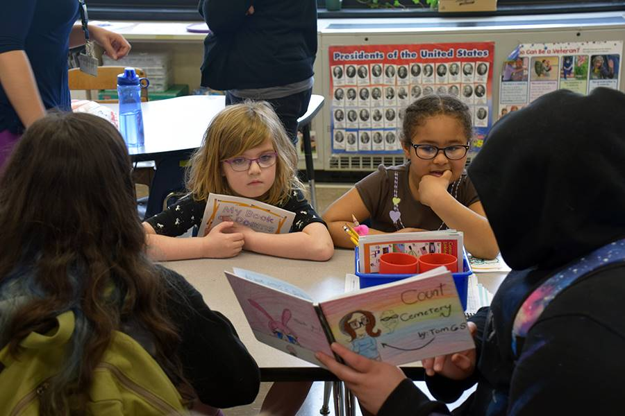 TV students read to AGM