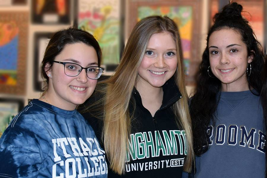 UEHS college decision day 2019