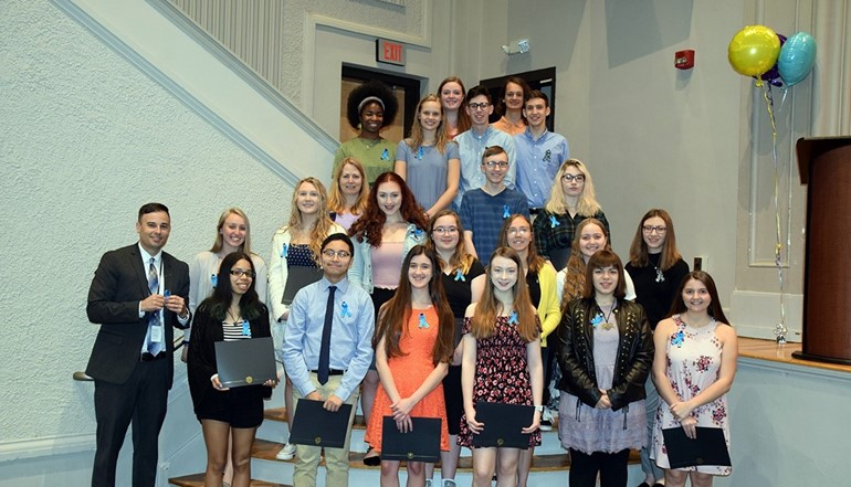 UEHS Tri-M Musical Honor Society Induction.