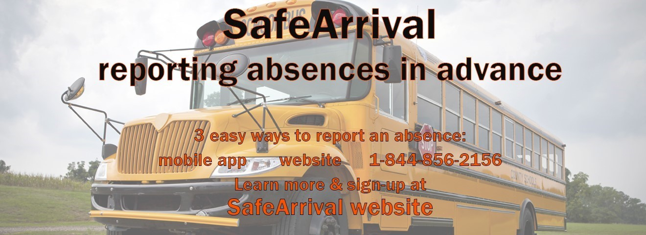 Bus with Safe Arrival information