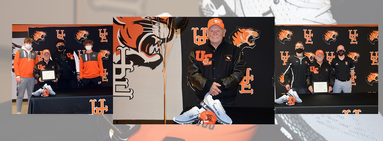 Thank you Shorty for 50 years of service to U-E Football!