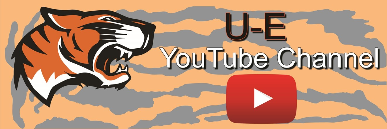 U-E YouTube Channel will be streaming live events.
